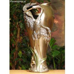 Przepiękny wazon z czaplą Veronese