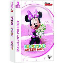 KLUB PRZYJACIÓŁ MYSZKI MIKI: MINNIE (3 DVD) (Butik Minnie, Kocham Minnie, Bal maskowy) - Zaufało nam kilkaset tysięcy klientów, wybierz profesjonalny sklep