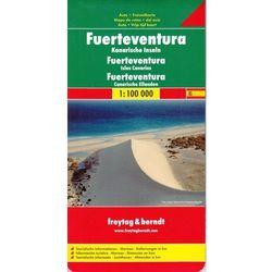 Fuerteventura 1:100 000. Mapa samochodowa, składana. Freytag&Berndt (opr. twarda)