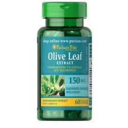 Liść Oliwny Ekstrakt 150 mg / 60 kaps