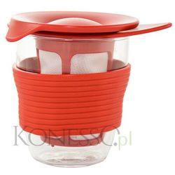 Kubek do herbaty Hario Handy tea maker 200ml - czerwony