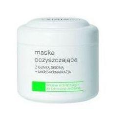 Ziaja maska oczyszczajaca z Glinka zieloną + mikro-dermabrazja 250ml