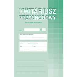Kwitariusz przychodowy num. Michalczyk&Prokop 400-1 - A4 (oryginał+2 kopie)