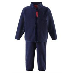 Komplet polarowy dwuczęściowy Reima ETMIN bluza/spodnie granatowy