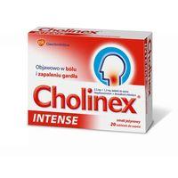 Cholinex Intense (smak jeżynowy) 20 tabl.
