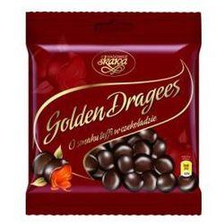 Draże Golden Dragees toffi w czekoladzie 100 g Skawa