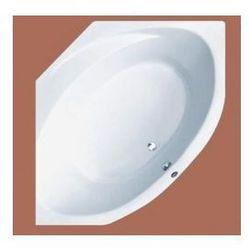 Wanna narożna Ruben Sigma symetryczna 150 x 150 cm, biała, system hydromasażu Ajax Sigma + Ajax