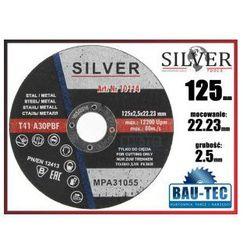 Tarcza do cięcia metalu 125x2.5x22.23 SILVER