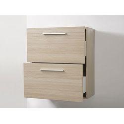 Meble łazienkowe - szafka wisząca łazienkowa beżowa - MURCIA