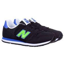 Buty sportowe New Balance KJ373TNY Black/Green