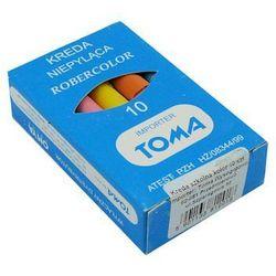 Kreda szkolna Toma 81201/10szt. mix