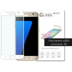 etuo.pl - szkło - Samsung Galaxy S7 - szkło hartowane 3D - biały