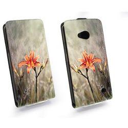 Flip Fantastic - Microsoft Lumia 640 - kabura - róże