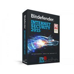 Bitdefender Internet Security 2015 PL - wersja na 1 komputer na 3 lata, licencja elektroniczna