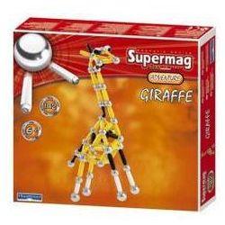 Klocki magnetyczne. Supermag - Żyrafa