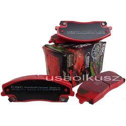 sportowe przednie klocki hamulcowe EBC RED STUFF tarcze 320mm Lancia Thema