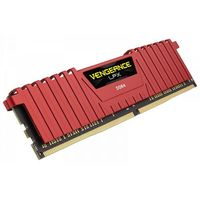 CORSAIR DDR4 Vengeance LPX 16GB/2400(2*8GB) CL14-16-16-31 RED 1,20V XMP 2.0 CMK16GX4M2A2400C14R