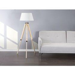 Lampa stojaca naturalny bialy - lampa podlogowa - oswietlenie - MADEIRA