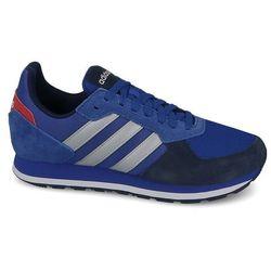 buty adidas neo label niebieskie