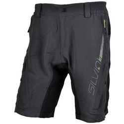 Męskie MTB rowerowe spodnie Silvini MAGO MP858 charcoal