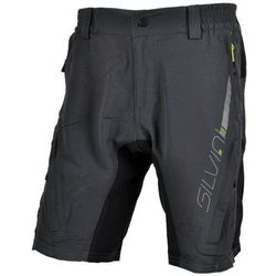 Męskie MTB spodnie rowerowe Silvini MAGO MP858 charcoal