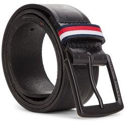 paski do spodni tommy hilfiger keeper belt czarny skorzany pasek ... e114304feaa