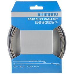 Shimano zestaw linek przerzutki SIL-TEC + pancerz OT-SP41 (szary)