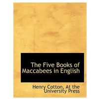 Five Books of Maccabees in English
