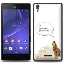Fantastic Case - Sony Xperia T3 - etui na telefon - rabbit