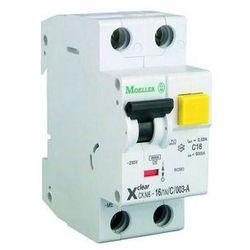 Wyłącznik różnicowoprądowy, różnicówka z modułem nadprądowym CKN6-10/1N/C/003 EATON-MOELLER