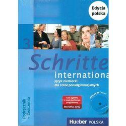 Schritte international 3. Język niemiecki dla szkół ponadgimnazjalnych. Podręcznik + Ćwiczenia (z 1 CD) + Zeszyt ucznia XXL. Edycja polska (opr. miękka)