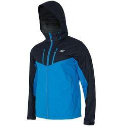 [T4L16-KUMTR203] Kurtka trekkingowa męska KUMTR203 - niebieski jasny