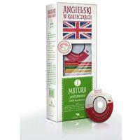 Angielski w Karteczkach - fiszki Matura 1 (Podstawowa) + 1 CD