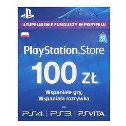 PlayStation Network - doładowanie 100 ZŁ (PSN)