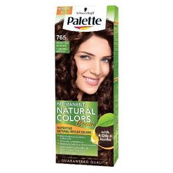Palette Permanent Natural Colors Farba do włosów nr 765 Złocisty Czekoladowy Brąz