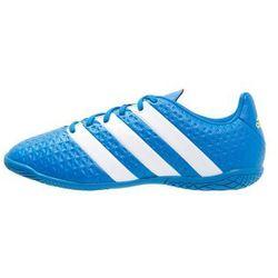 adidas Performance ACE 16.4 IN Halówki shock blue/white/semi solar slime
