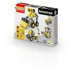 Engino, Inventor, Pojazdy budowlane, 8w1, klocki konstrukcyjne Darmowa dostawa do sklepów SMYK