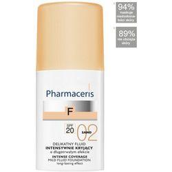 PHARMACERIS F delikatny fluid intensywnie kryjący SPF20 SAND 02 30ml