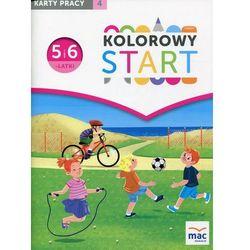 Kolorowy Start 5 i 6-latki Karty pracy Część 4