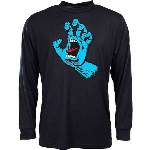 koszulka SANTA CRUZ - Screaming Hand Black (BLACK) rozmiar: XL