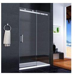 NIXON Drzwi prysznicowe 120x190, szkło transparentne + powłoka Easy Clean