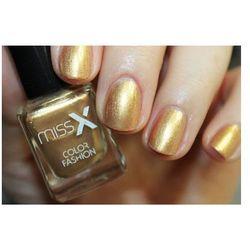 MISS X Lakier d/paznokci 241 złoto perła