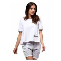MOE170 bluzka biała