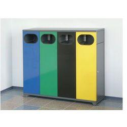 Kosz na śmieci potrójny wewnętrzny