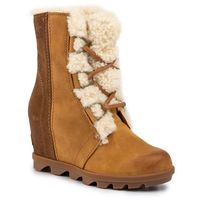 Botki SOREL - Joan of Arctic Wedge II Shearling NL3021 Camel Brown 224