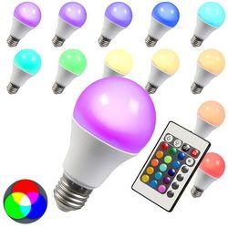 Żarówka LED RGB E27 3W