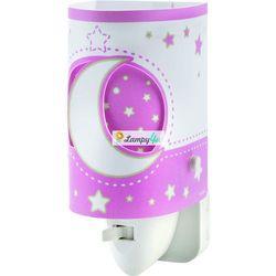 LED Kinkiet dziecięcy PINK MOON 1xE14/0,5W LED