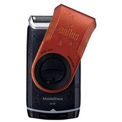 Braun MobileShave M-60r maszynka do golenia w wersji podróżnej czerwony + do każdego zamówienia upominek.