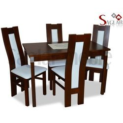 Zestaw JUKON IV 4 krzesła i stół 70x120/150