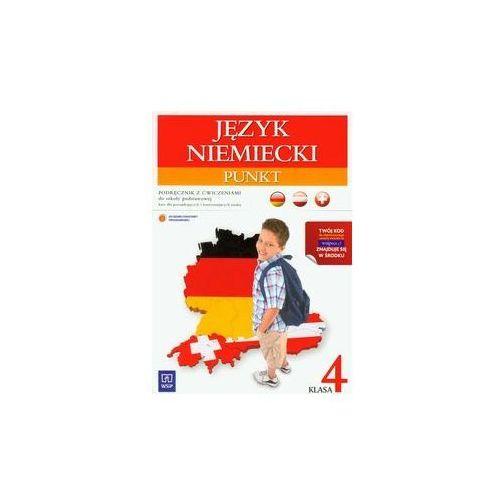 Punkt 4, Język niemiecki, Podręcznik z ćwiczeniami dla klasy 4, Wydanie 2012 (opr. broszurowa)